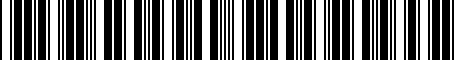 Barcode for 1K5867615A